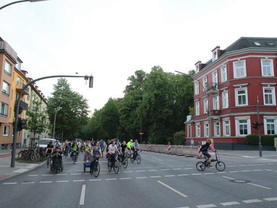 Ride of Silence Hamburg 16. Mai 2018